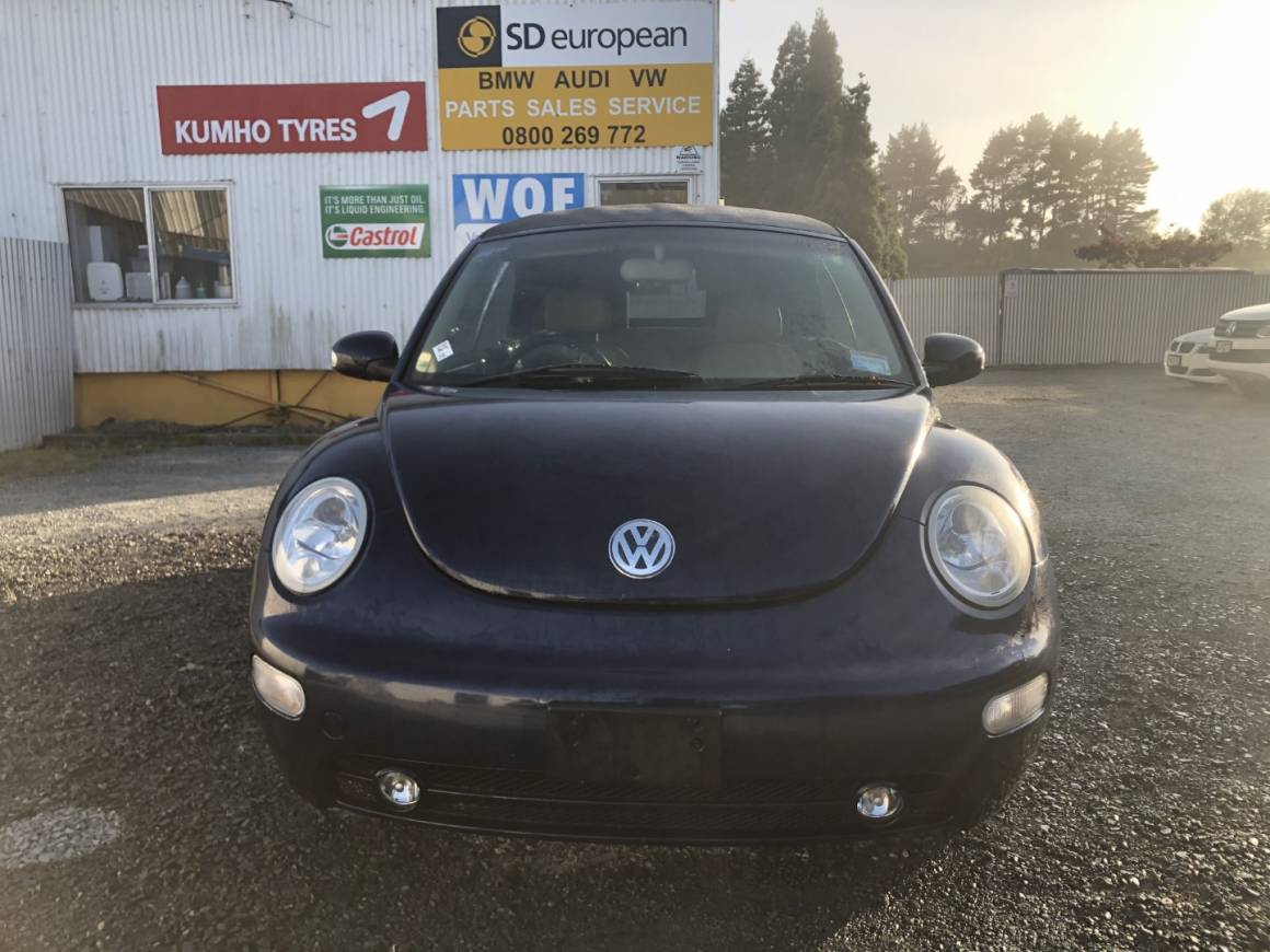 2004 VW Beetle Convertible
