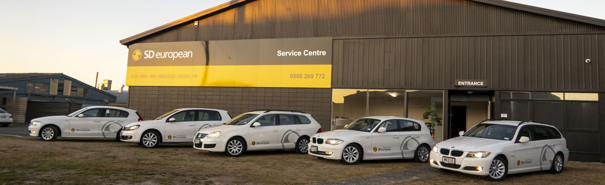 service centre out front
